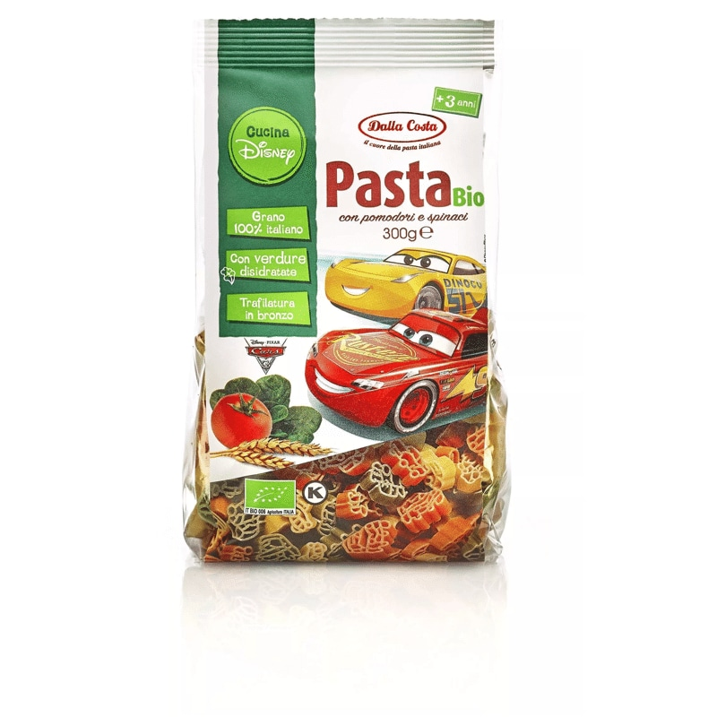 Pasta tricolore bio Dalla Costa Cars