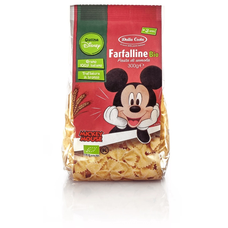 Farfalline Bio Dalla Costa Disney Mickey Mouse