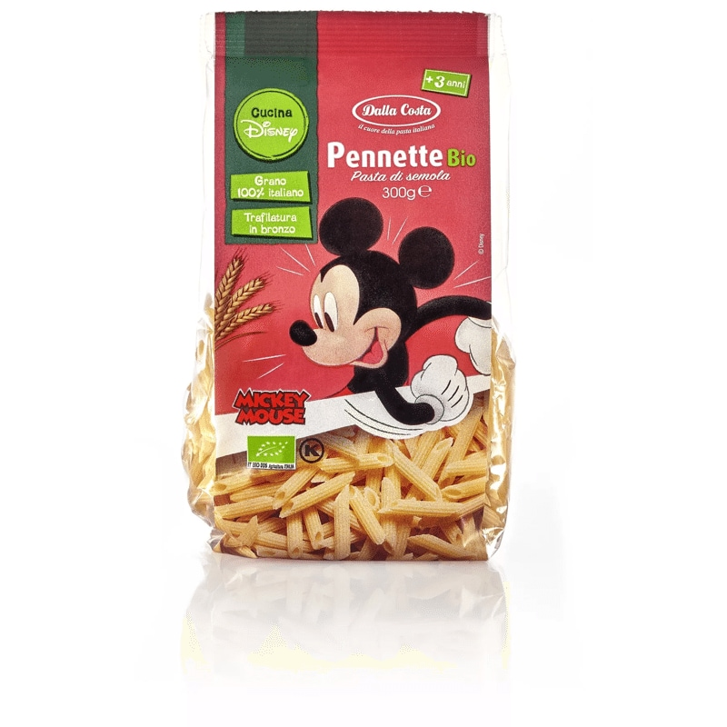 Pasta bio Dalla Costa Mickey Mouse
