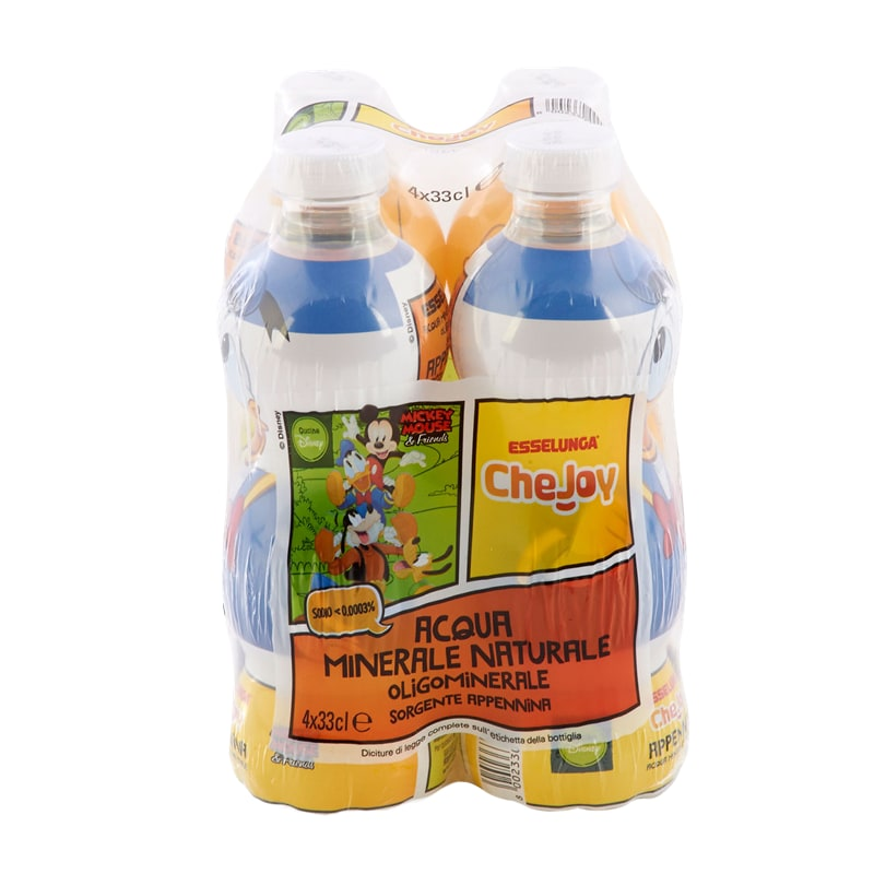 Esselunga CheJoy, acqua naturale