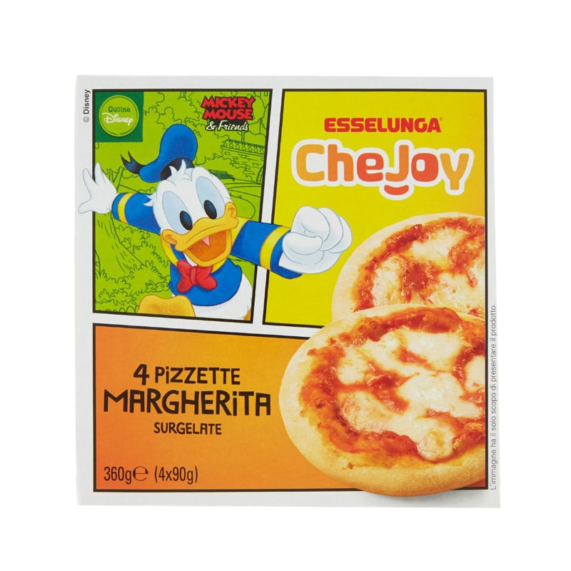 Esselunga CheJoy, pizzette Margherita surgelate