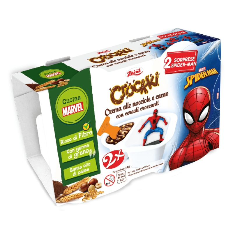 Zàini Crockki Spider-Man