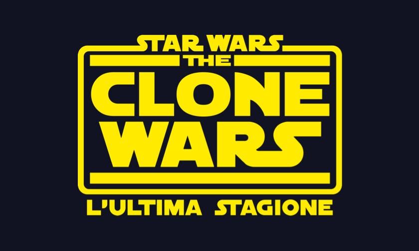 Disney Plus Video Page - Star Wars Clone Wars The Final Season - Logo