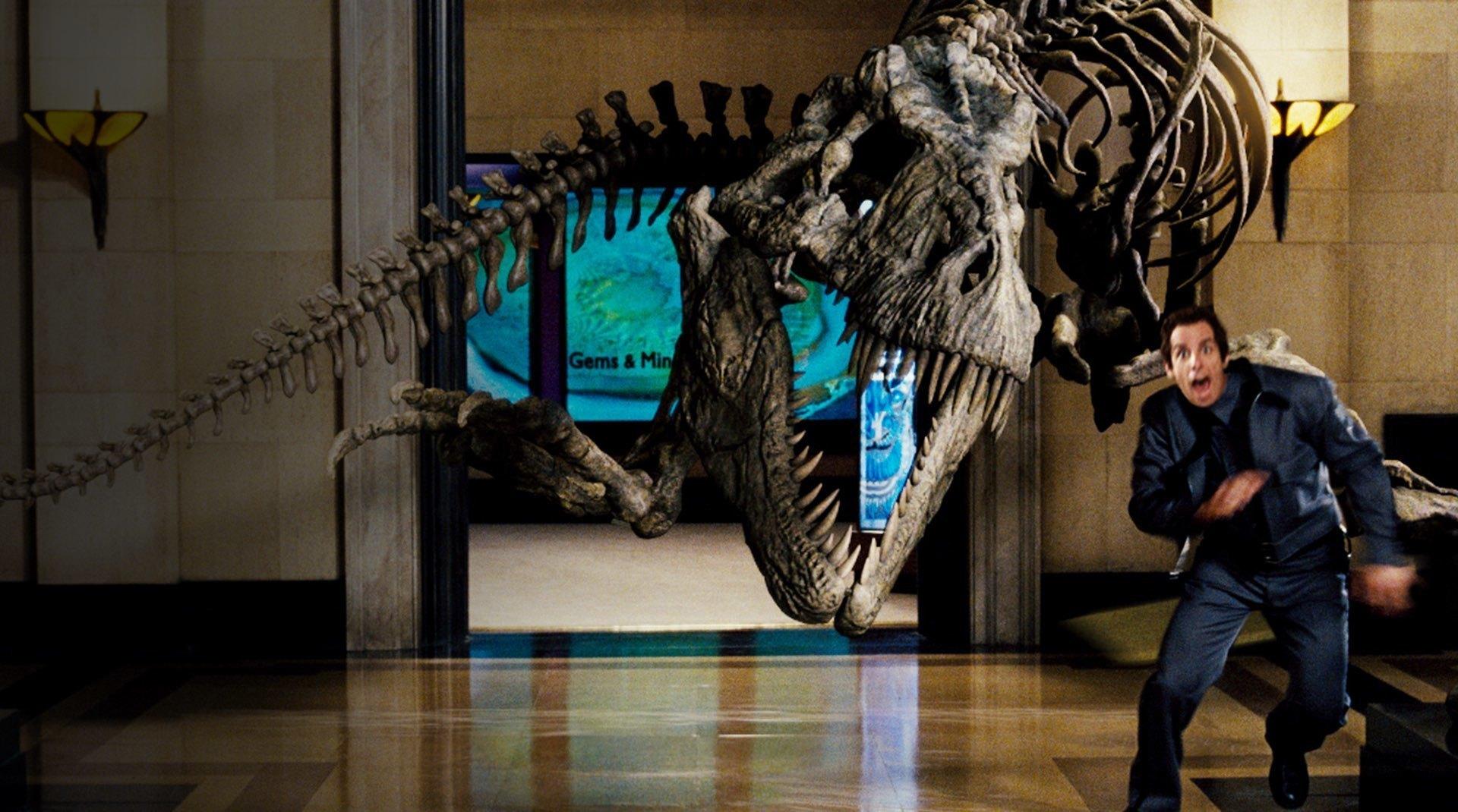 Scena dal film Una notte al museo