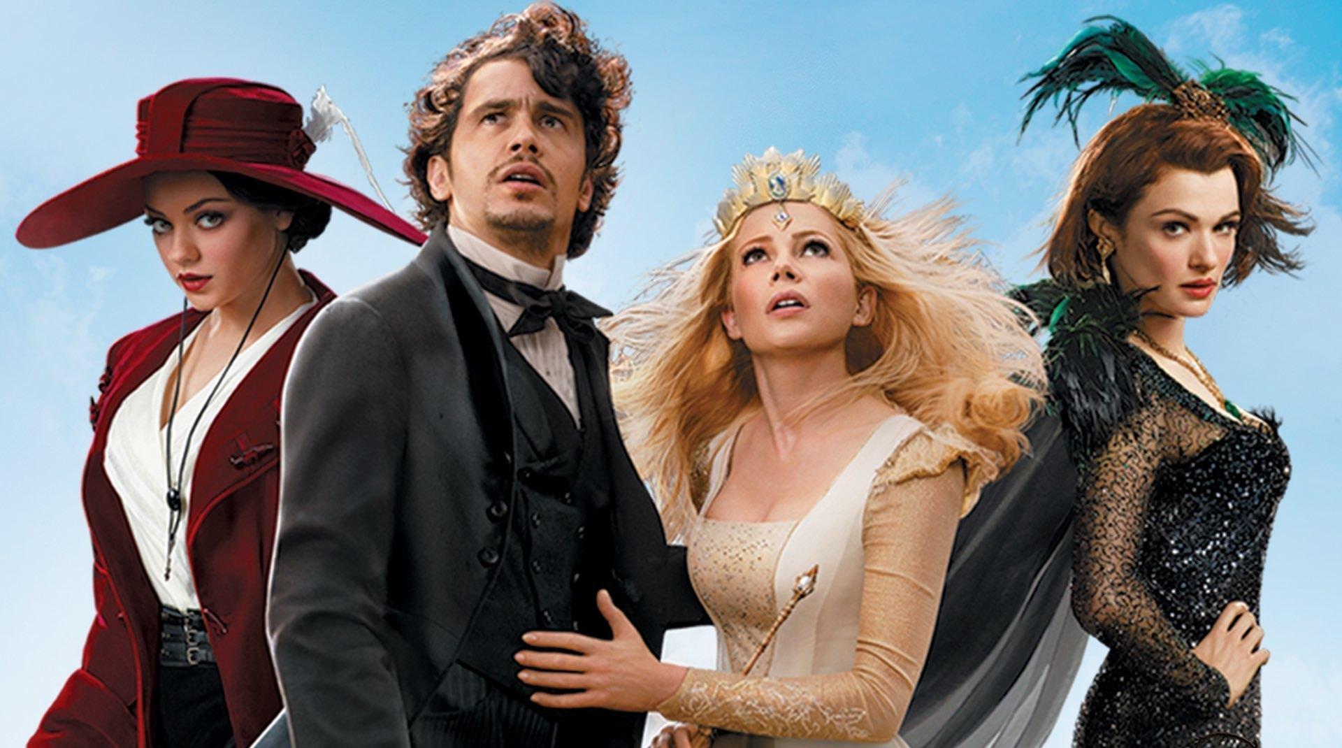 Immagine dei protagonisti del film Il grande e potente Oz