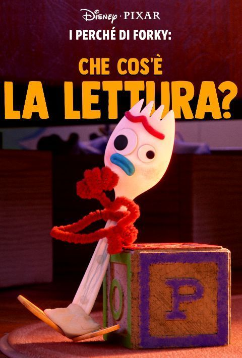 Disney Plus - Forky Asks a Question - Poster