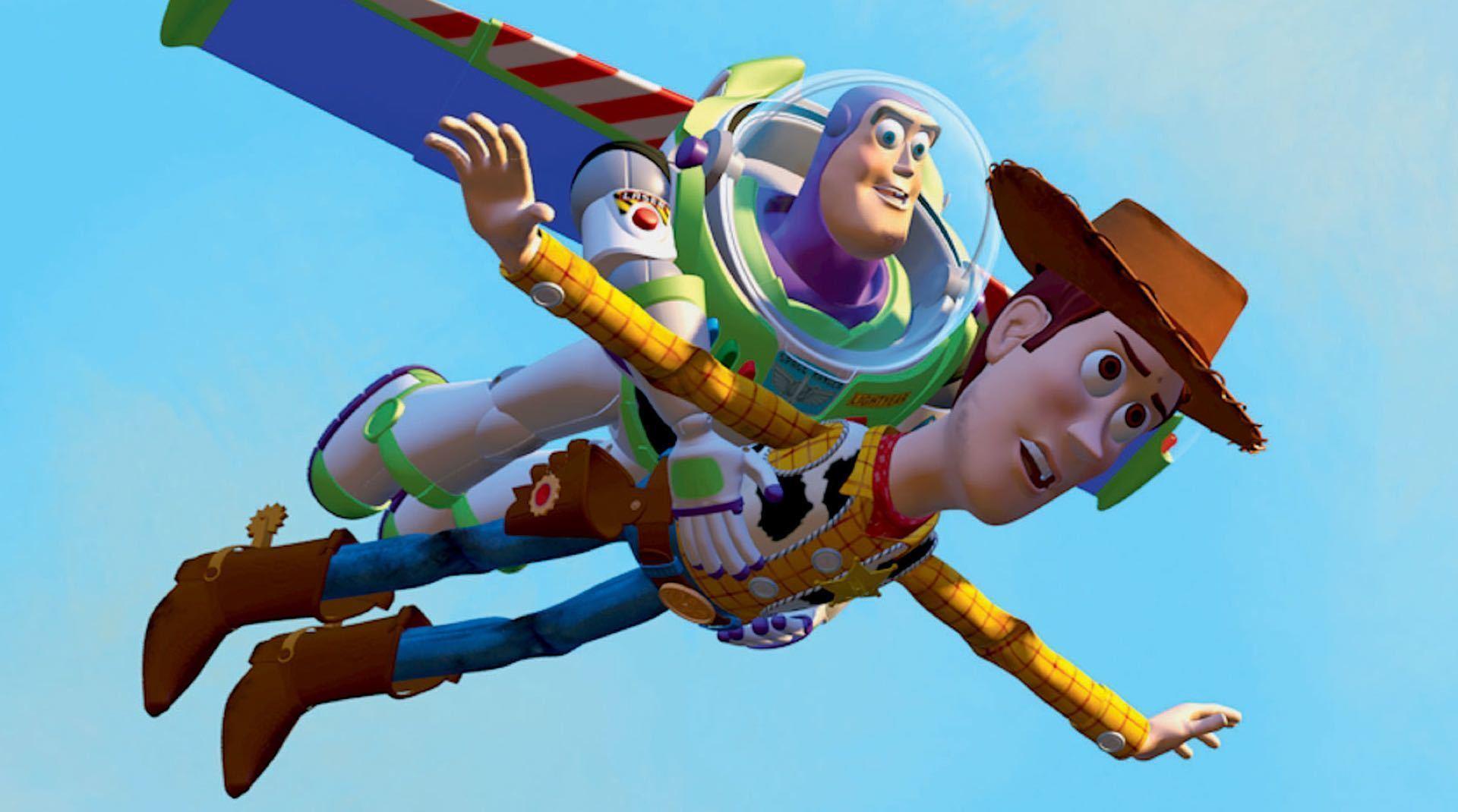 Un'immagine dal film Toy Story