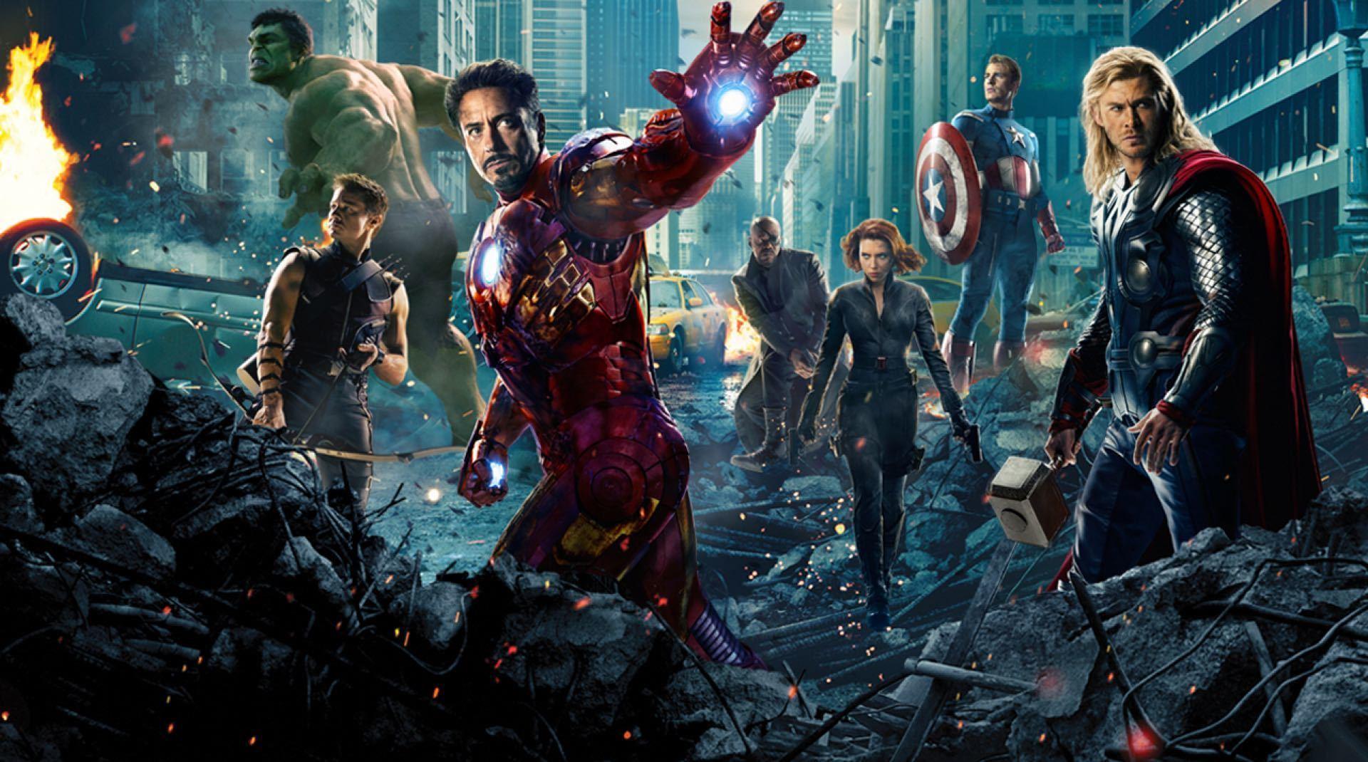 Poster del film Avengers