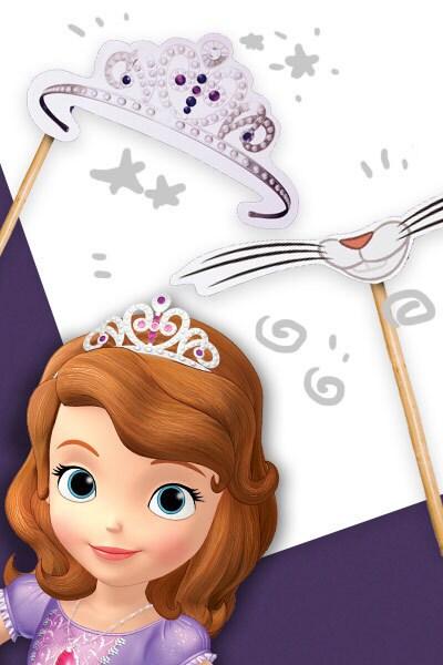 Selfie a tema Sofia la principessa