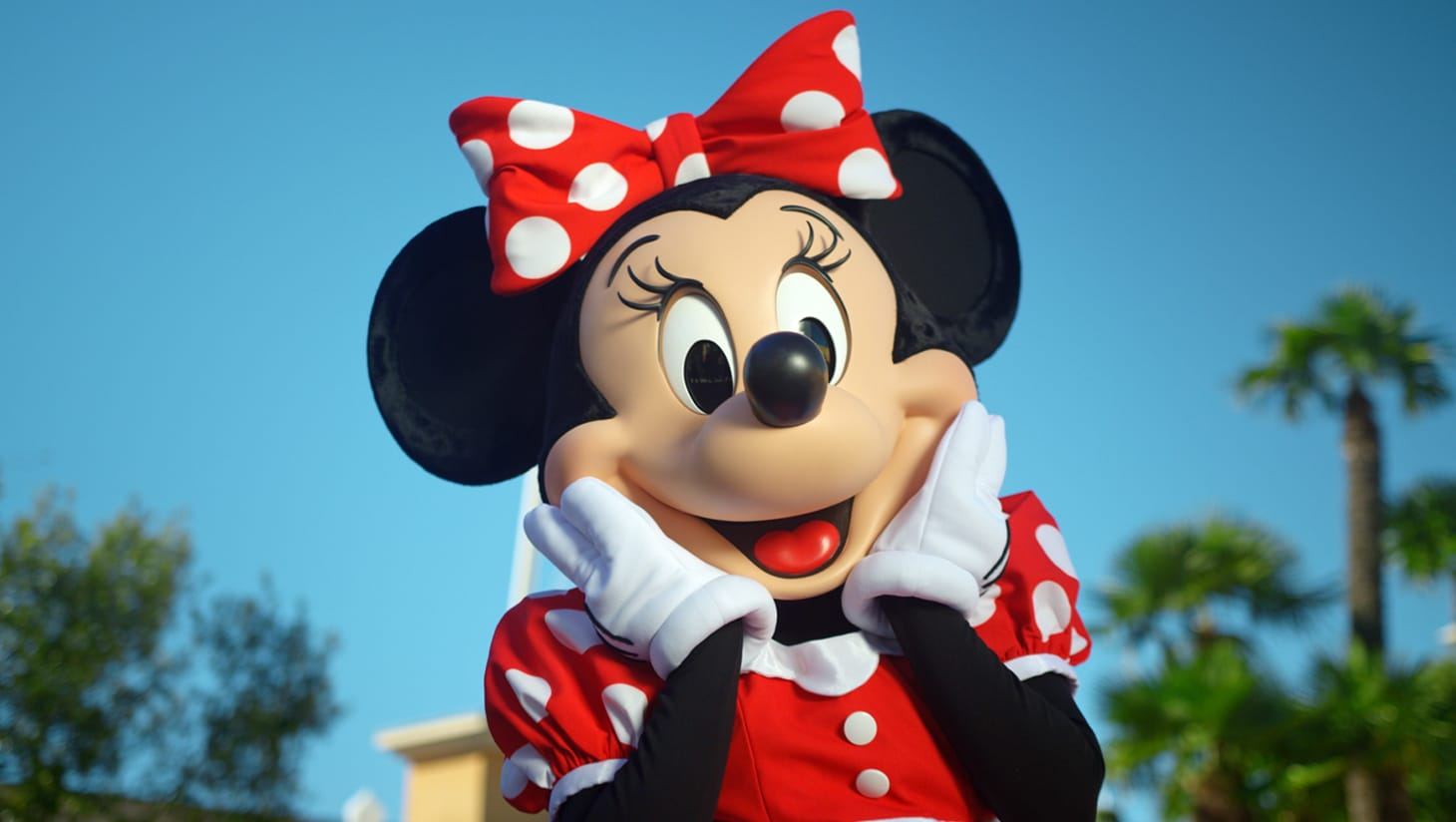 Minnie Mouse smiling