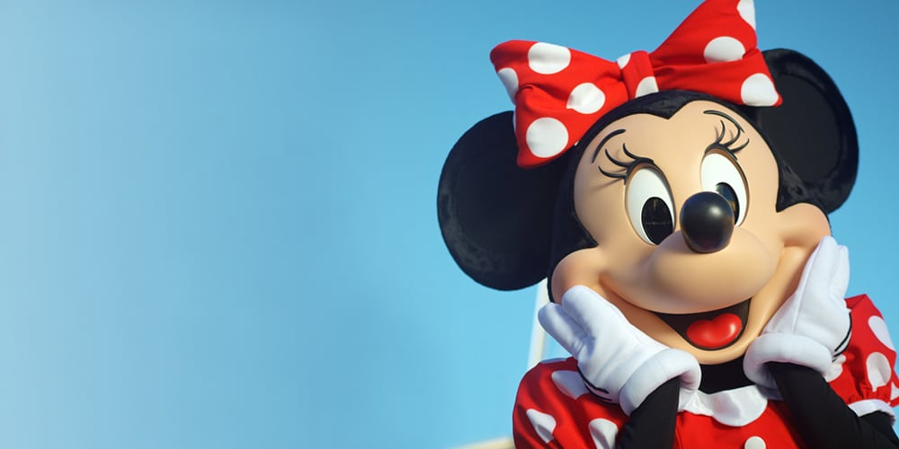 Minnie Mouse souriant