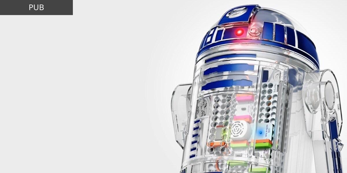 IT - Star Wars The Last Jedi - Featured Product - littleBits R2D2 - Flex Grid Object - Wide