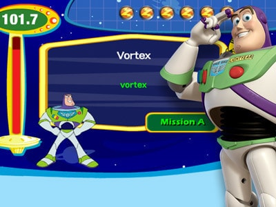 Buzz Lightyear Typing Ranger