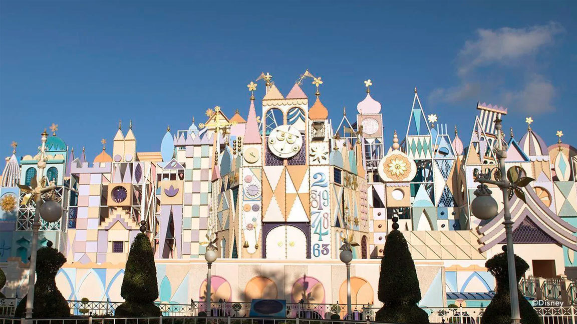It's a Small World Virtual Ride-Through Video