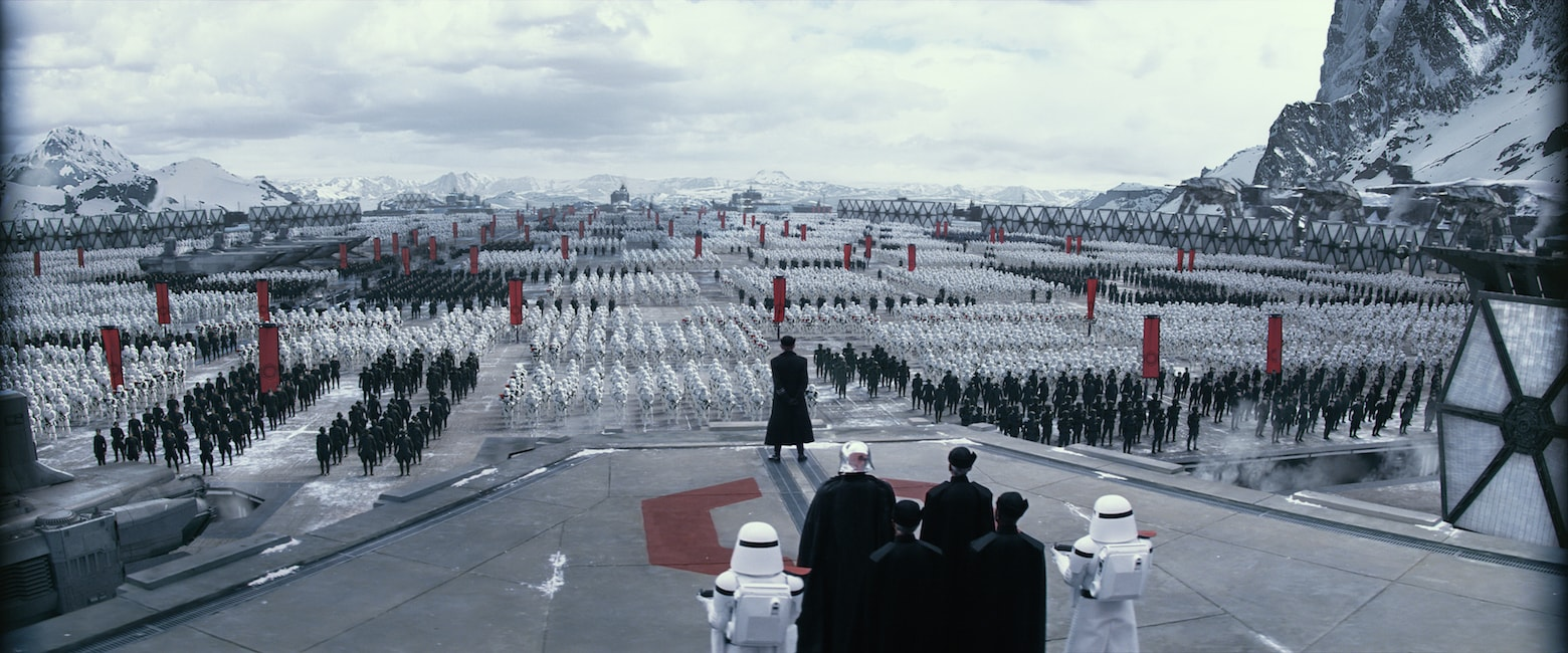 The First Order soldiers