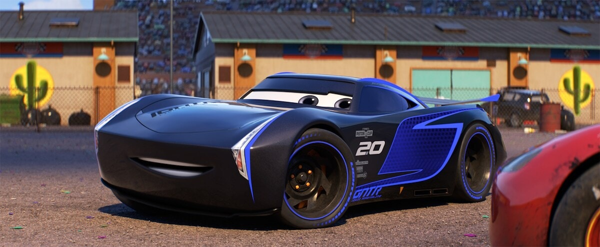 """Jackson Storm from the movie """"Cars 3"""""""