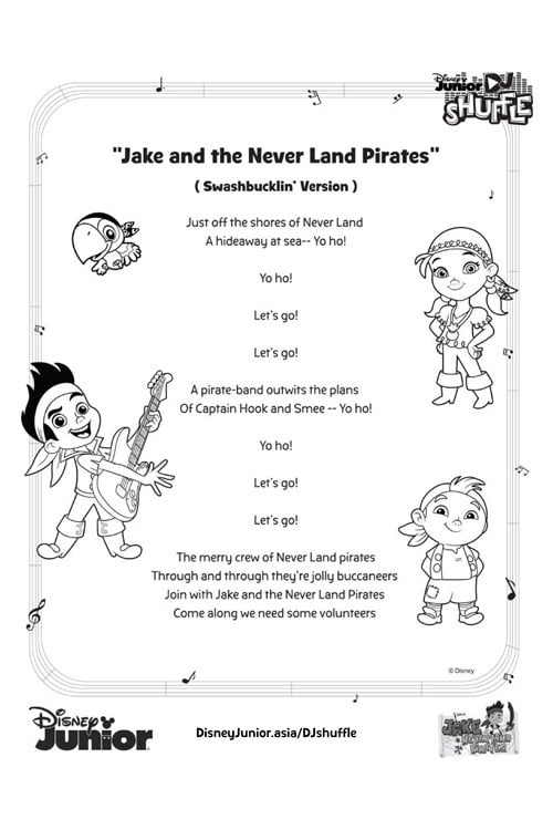 Jake Lyric Sheet