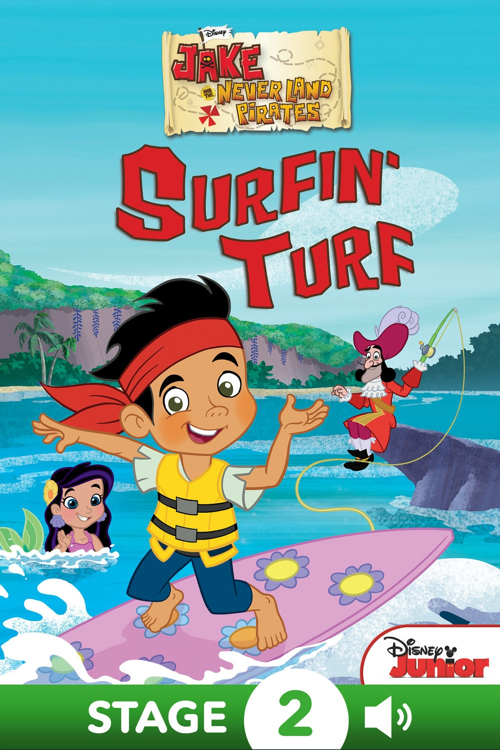 Jake and the Never Land Pirates: Surfin' Turf | DisneyLife