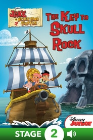 World of Reading Jake and the Never Land Pirates: The Key to Skull Rock