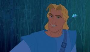 "John Smith from the animated movie ""Pocahontas"""
