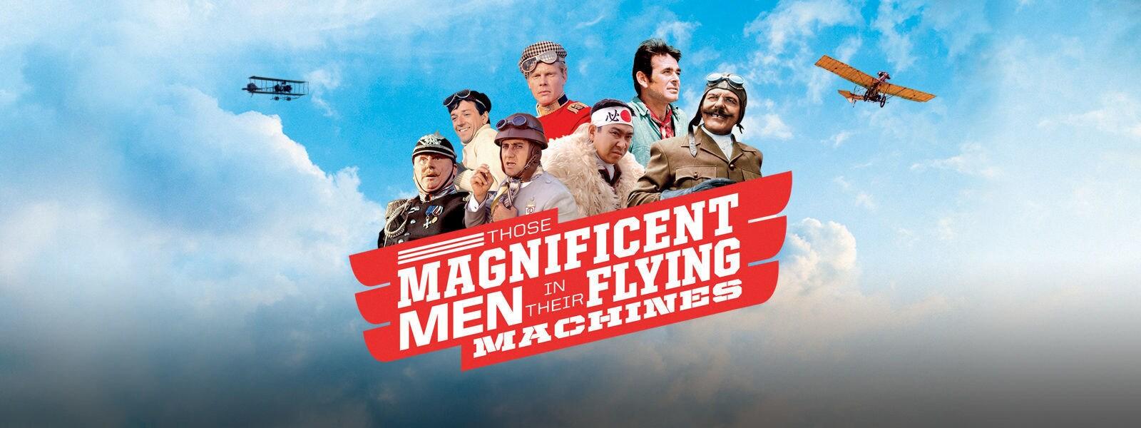 素晴らしきヒコーキ野郎|Those Magnificent Men in Their Flying Machines Hero Object