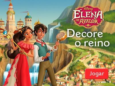 Decore o reino – Elena de Avalor