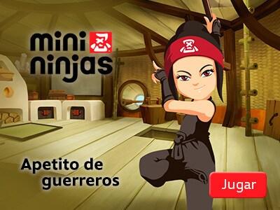 Mini Ninjas - Apetito de guerreros