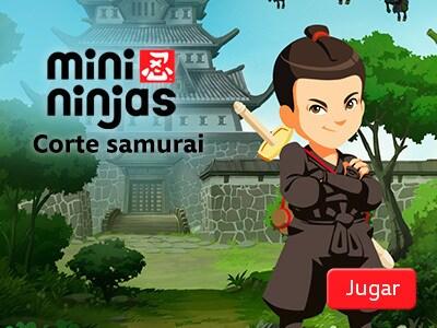 Mini Ninjas - Corte samurai
