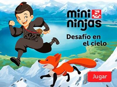 Mini Ninjas - Desafío en el cielo