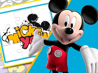Rompecabezas de cumpleaños de Mickey