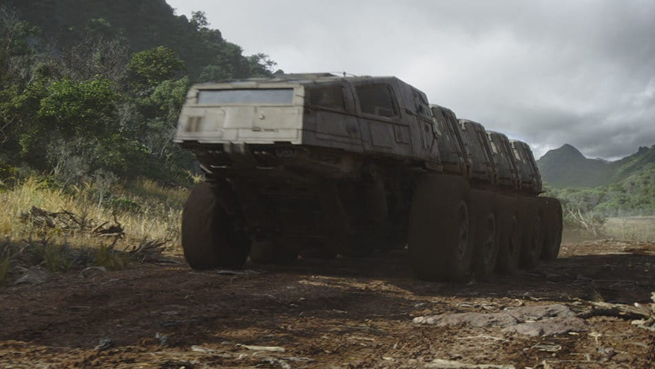 Juggernaut transport vehicle