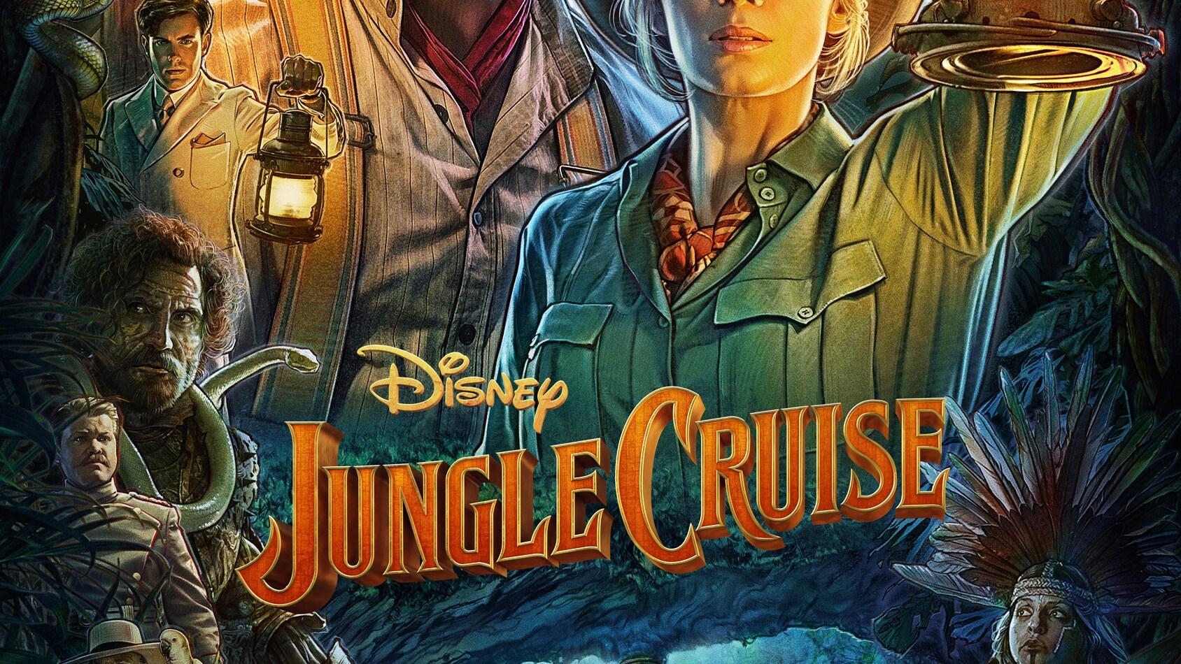 Jungle Cruise Key Art