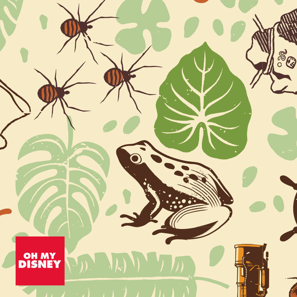 Let Your Taste For Adventure Soar With Mobile Wallpapers Inspired By Disney's Jungle Cruise