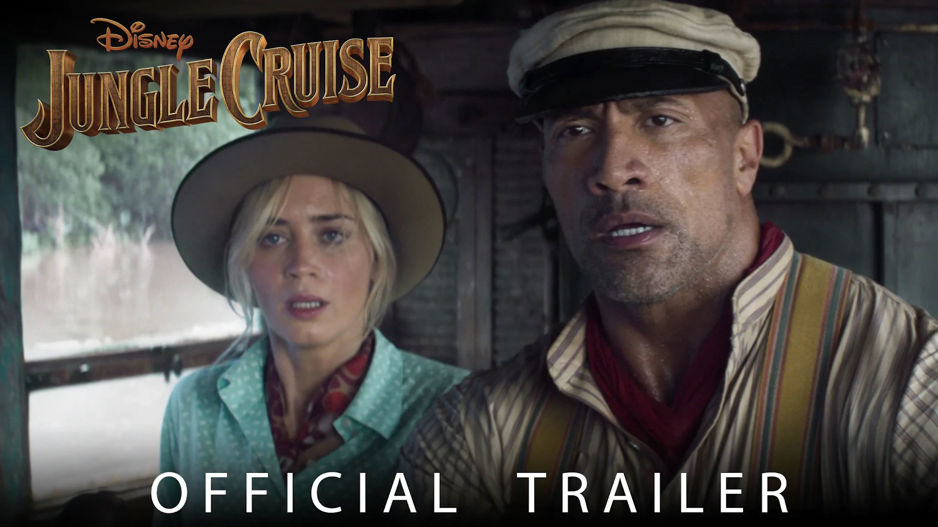 Disney's Jungle Cruise Trailer