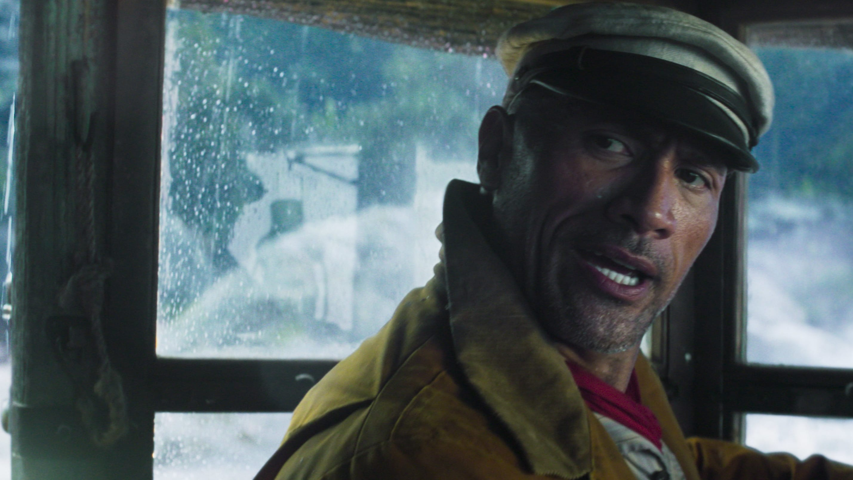 Dwayne Johnson as Frank Wolff in Disney's JUNGLE CRUISE. Photo courtesy of Disney. © 2021 Disney Enterprises, Inc. All Rights Reserved.