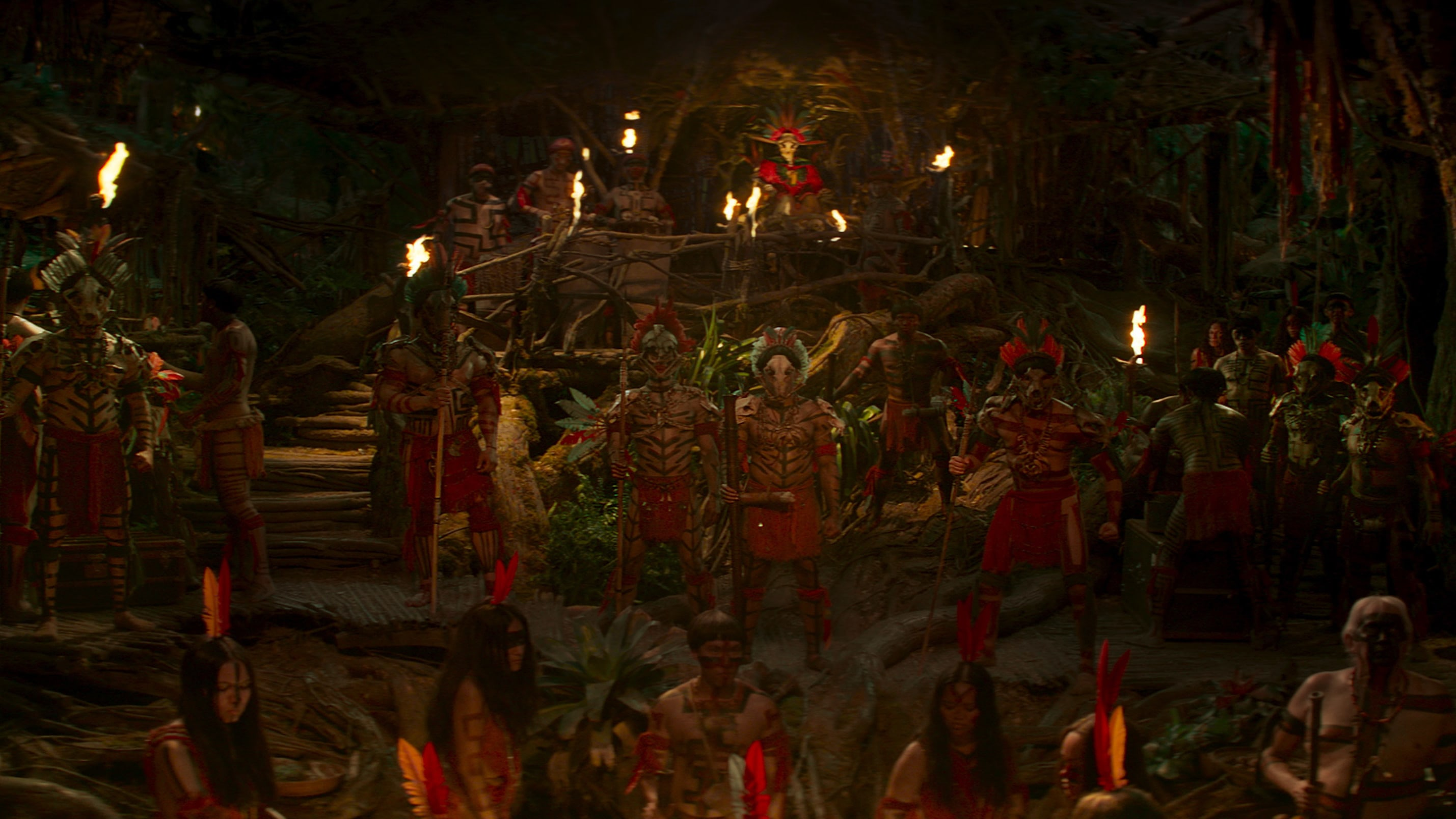 Scene from Disney's JUNGLE CRUISE. Photo courtesy of Disney. © 2021 Disney Enterprises, Inc. All Rights Reserved.