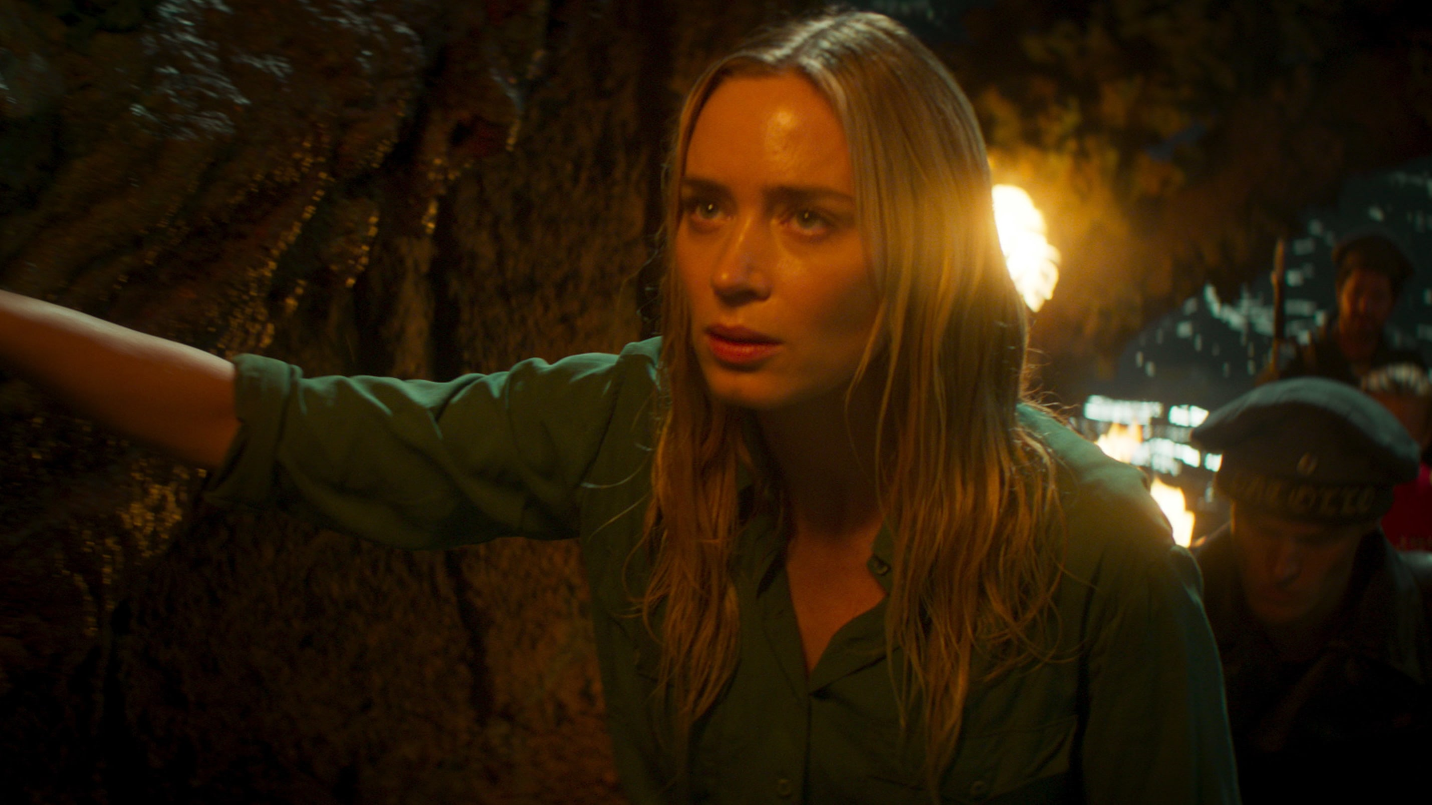 Emily Blunt as Lily Houghton in Disney's JUNGLE CRUISE. Photo courtesy of Disney. © 2021 Disney Enterprises, Inc. All Rights Reserved.