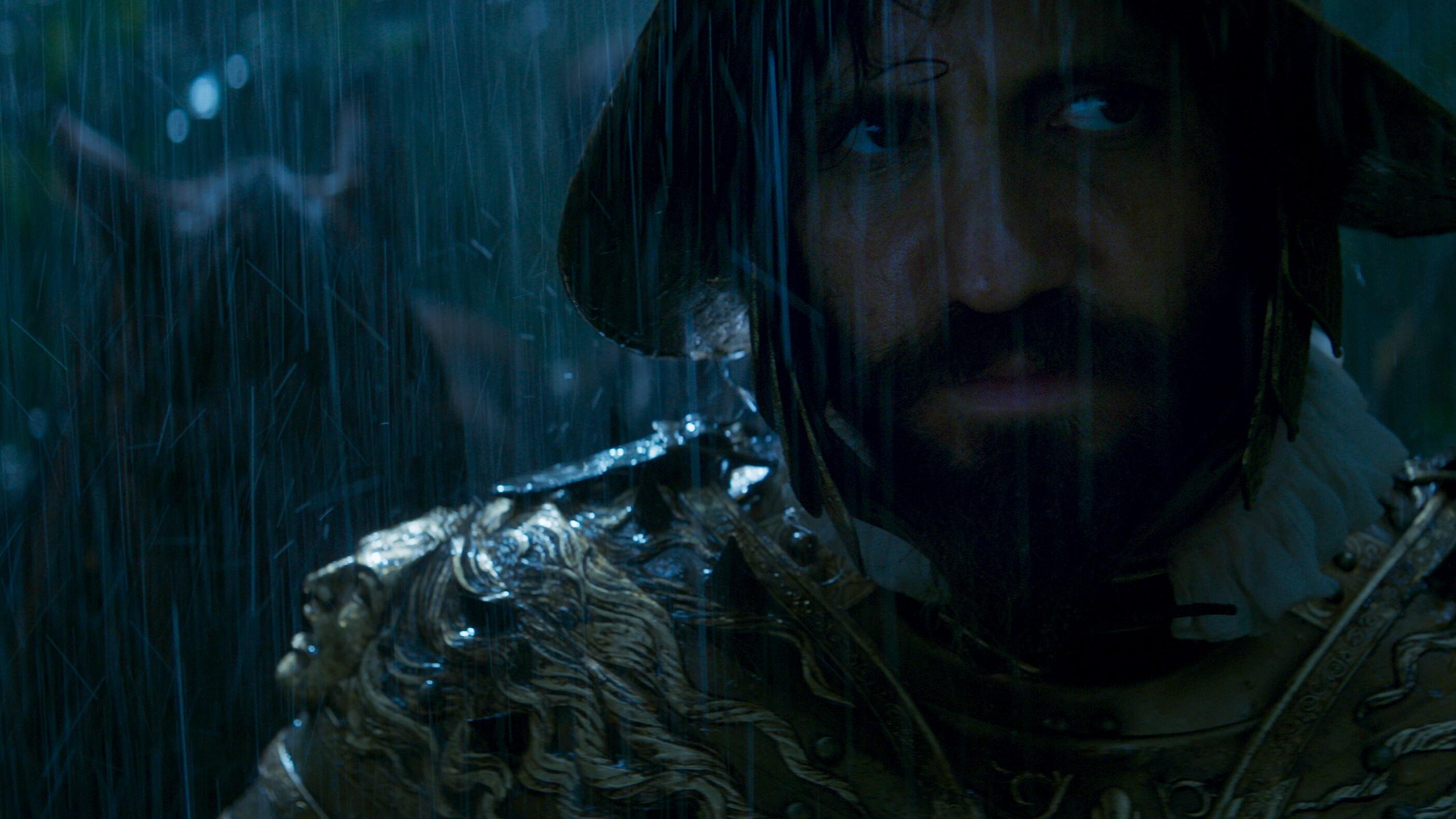 Quim Gutiérrez as Melchor in Disney's live-action JUNGLE CRUISE. Photo courtesy of Disney. © 2021 Disney Enterprises, Inc. All Rights Reserved.