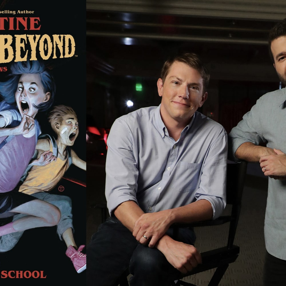 Disney+ Greenlights 'Just Beyond' Series From Seth Grahame-Smith Based on the Best-Selling Graphic Novels by R.L. Stine
