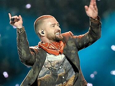 EL GRAN REGRESO DE UNA SÚPER ESTRELLA - Justin Timberlake sorprendió con su actuación en el Super Bowl.