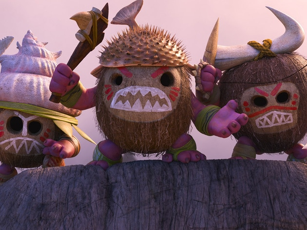 The Kakamora, an intense team of crazy, coconut-armoured pirates who will stop at nothing to get ...