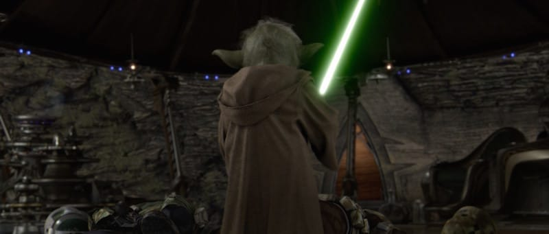 Yoda on Kashyyyk during Order 66