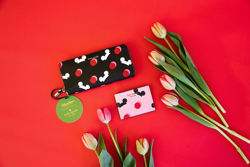Wallet from Kate Spade's Mickey Mouse Collection