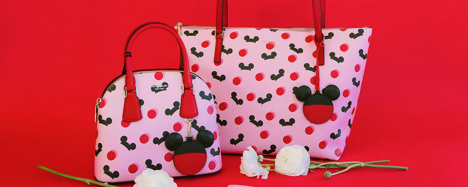Hand bags from Kate Spade's Mickey Mouse Collection