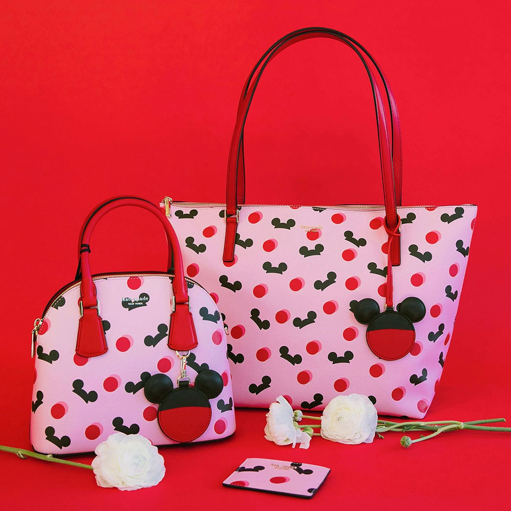 Kate Spade and Disney Parks Team Up Again for a Mickey Mouse Collection