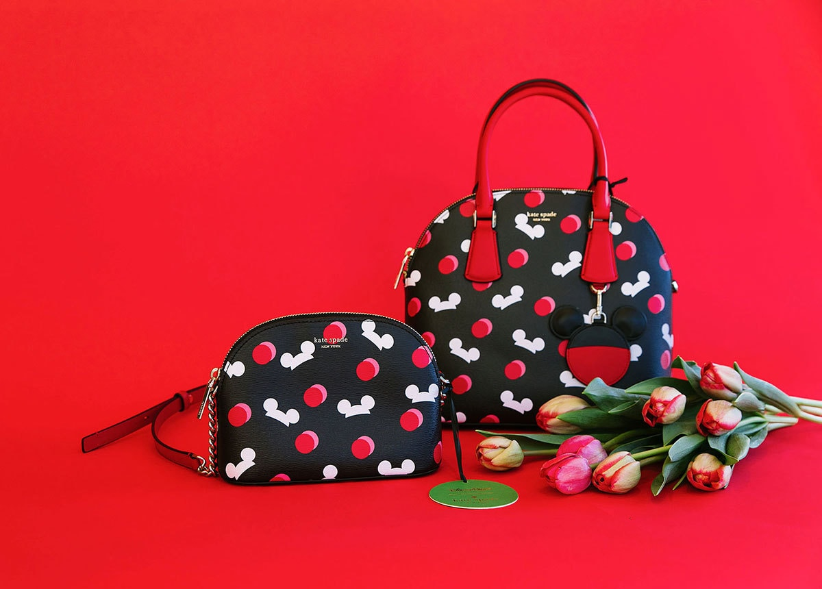 Purses from Kate Spade's Mickey Mouse Collection