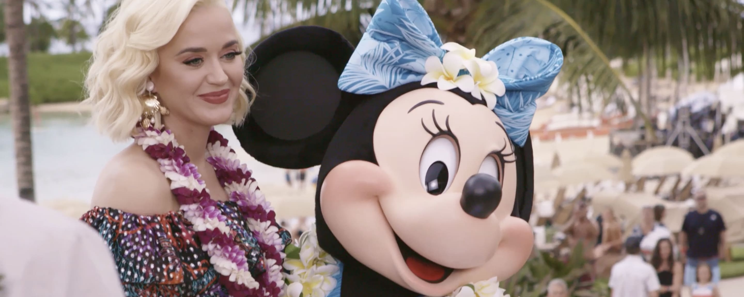 Katy Perry and Minnie Mouse