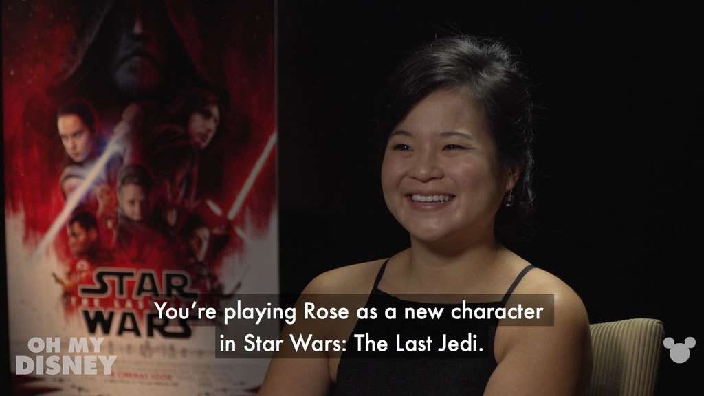 Disney Insider: Meet Kelly Marie Tran from Star Wars: The Last Jedi