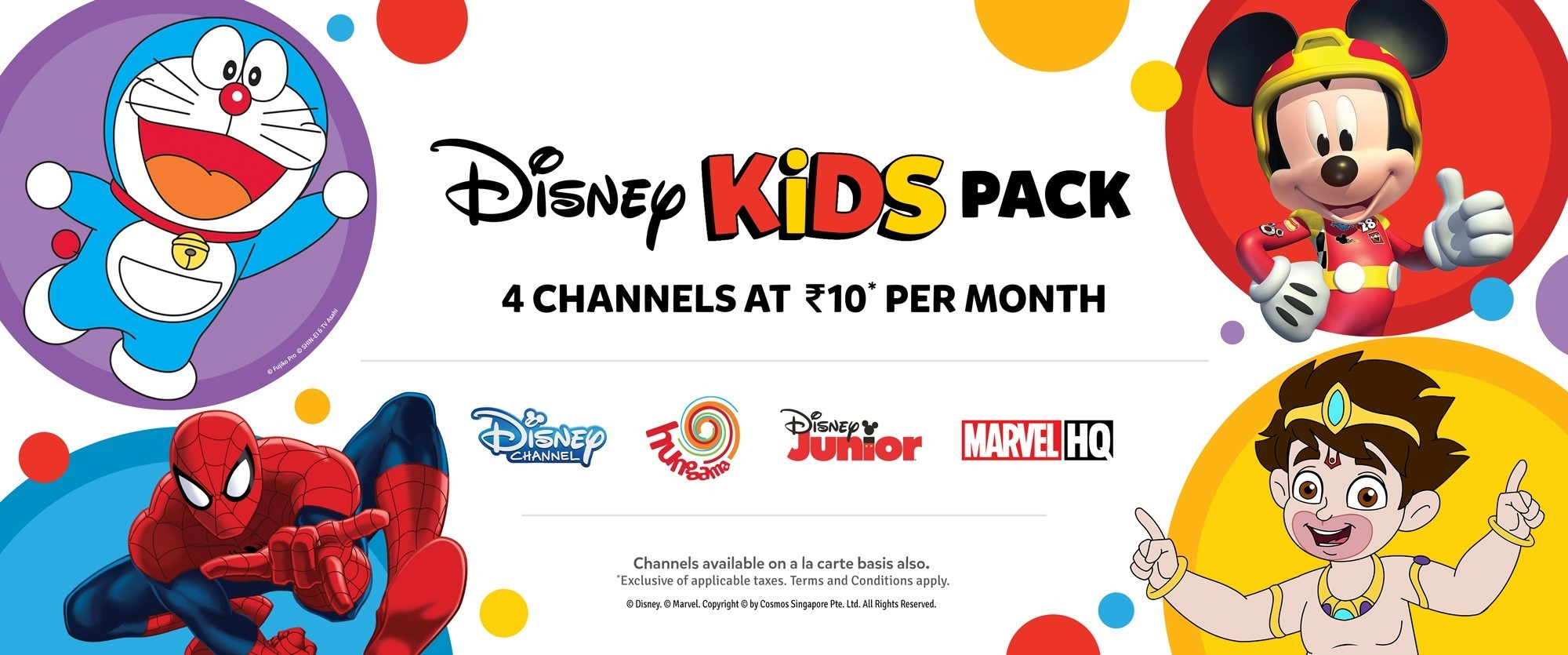 Disney Kids Pack Top | Channel Distributions