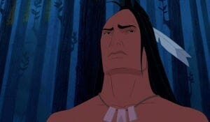 "Kocoum from the animated movie ""Pocahontas"""